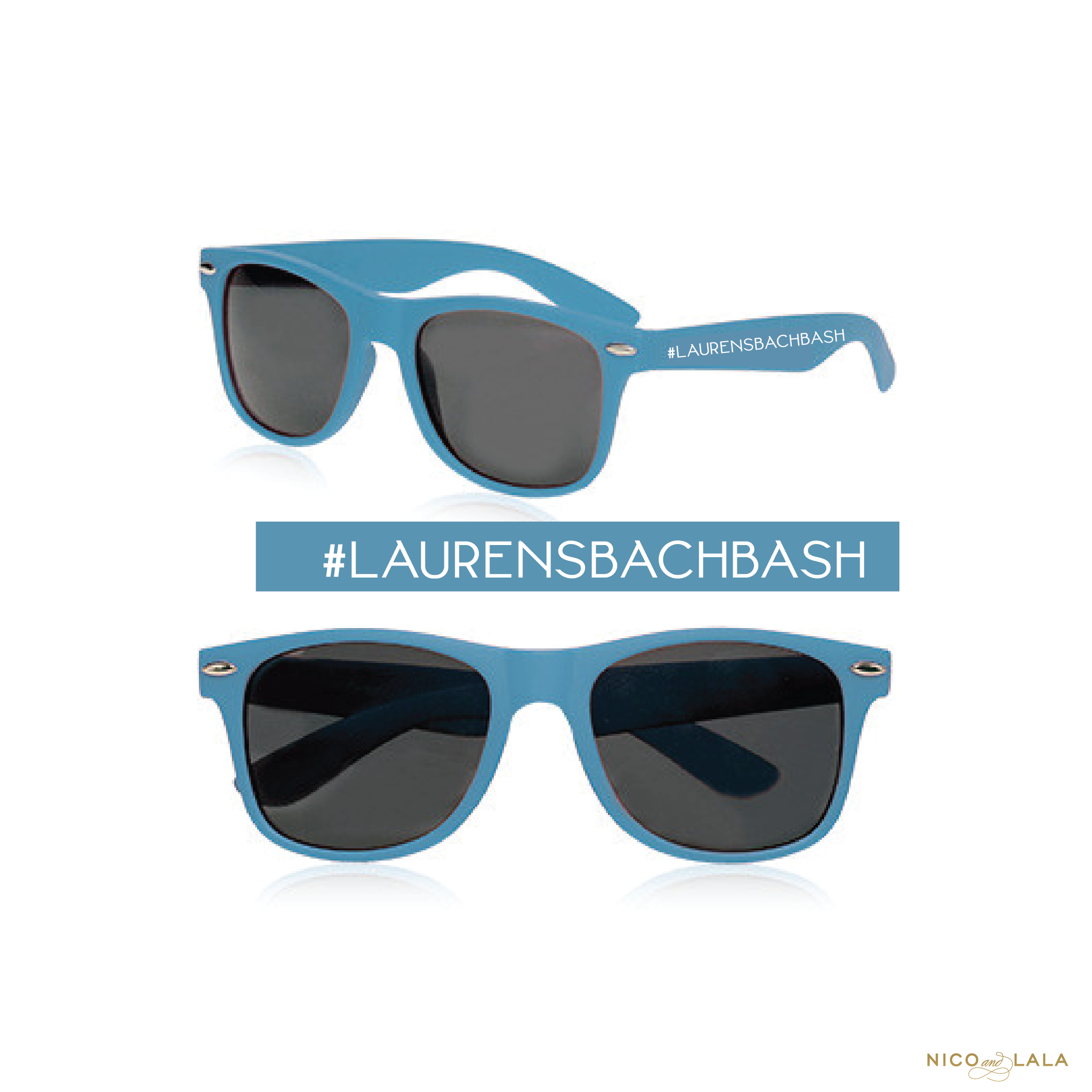 Beach Bachelorette Sunglasses