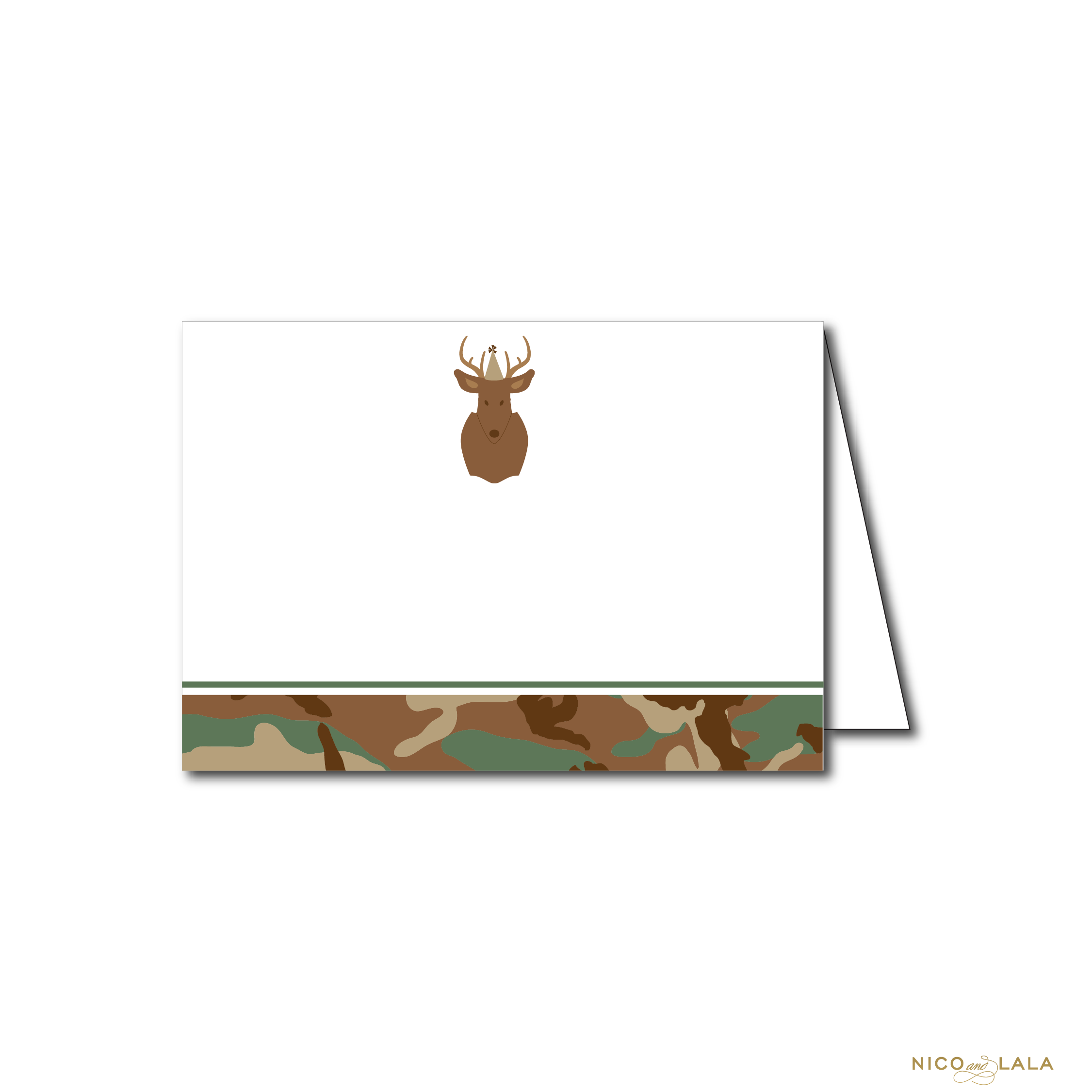 CAMO BIRTHDAY FOOD CARDS