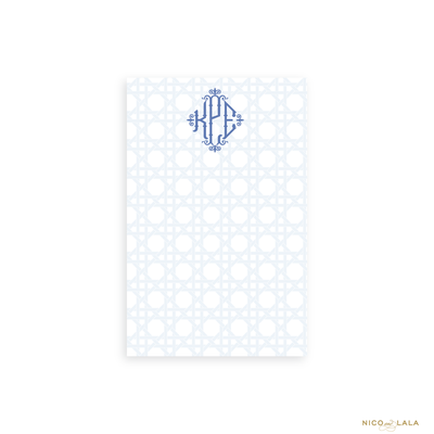 Carolina Cane Notepad