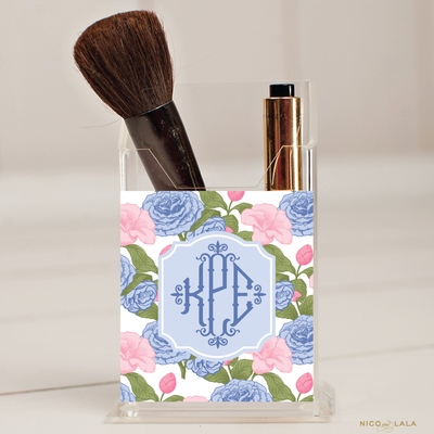 Carolina Cane Pencil/Make Up Brush Holder