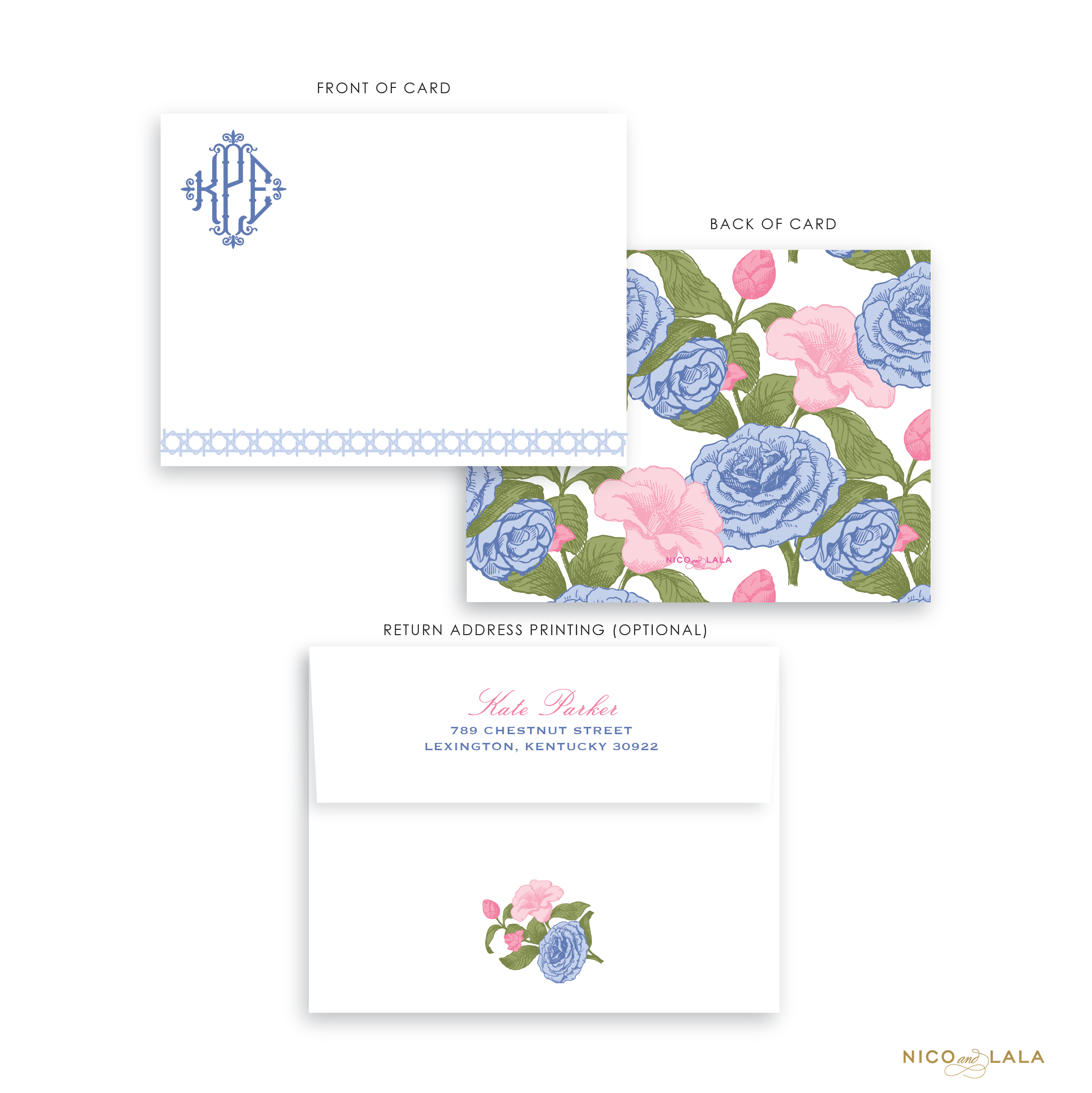 Carolina Cane Stationery