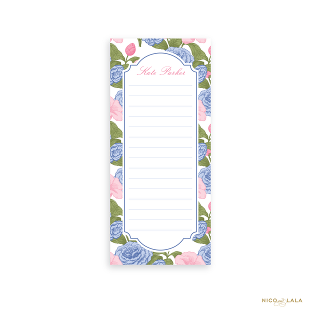 Carolina Cane Skinny Notepad