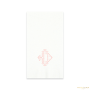 Charleston Monogram Guest Towels