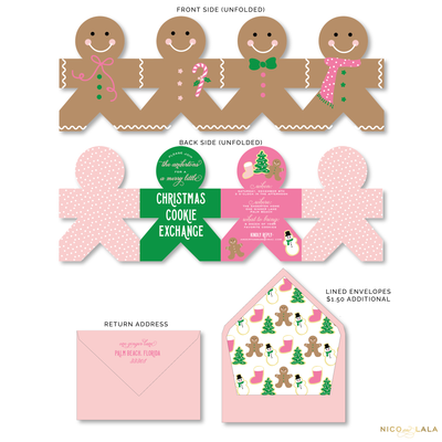 CHRISTMAS COOKIE EXCHANGE INVITATIONS