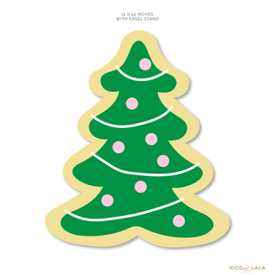 Die Cut Christmas Tree with Easel