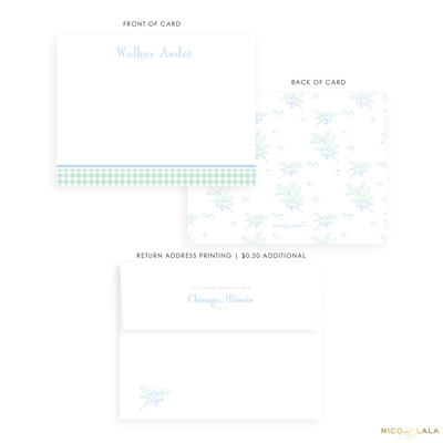 Classic Floral Stationery