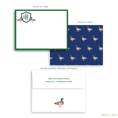 Duck Stationery
