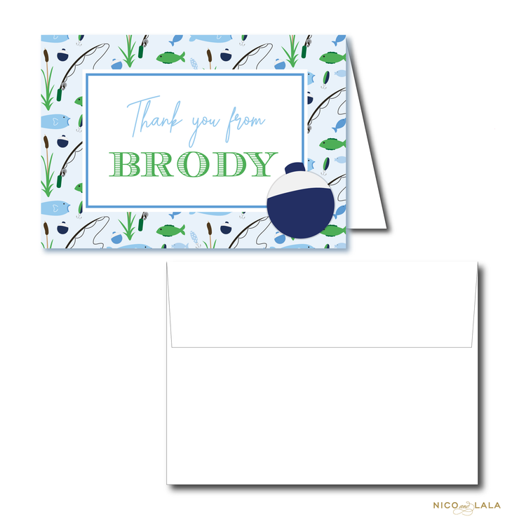 Fishing Stationery