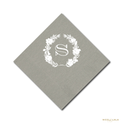 Garland and Seersucker Napkins