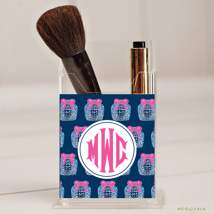 Ginger Jar Pencil/Make Up Brush Holder