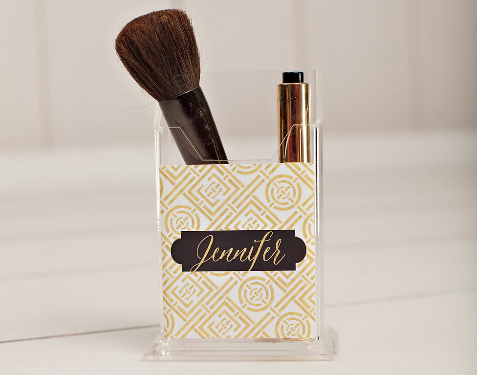 Gold Coast Pencil/Make Up Brush Holder
