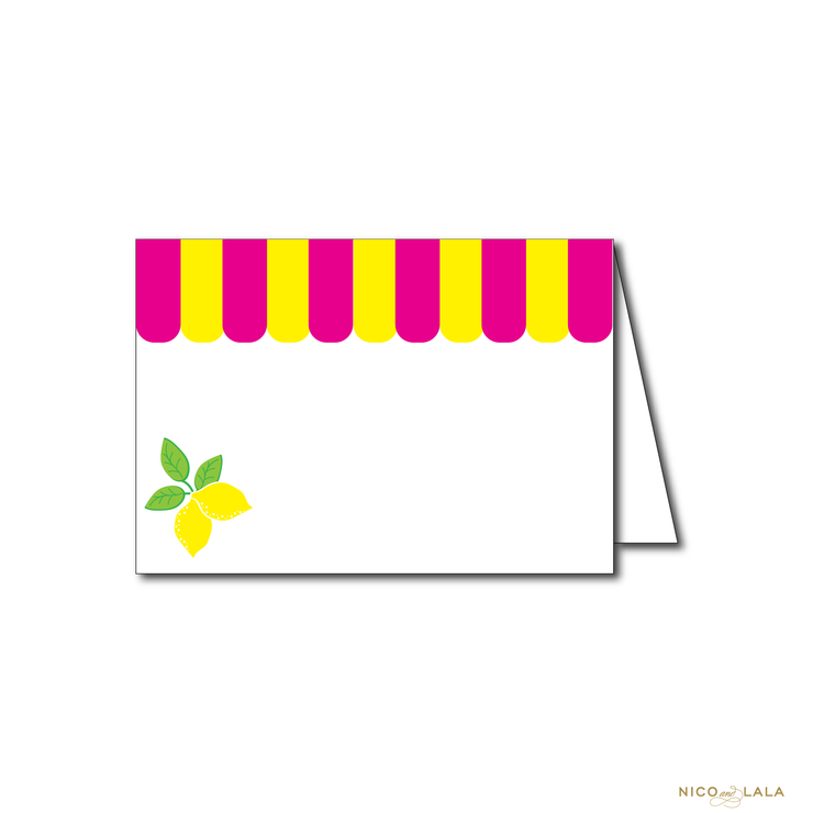LEMONADE BIRTHDAY FOOD CARDS