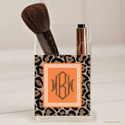 Classic Leopard Pencil/Make Up Brush Holder