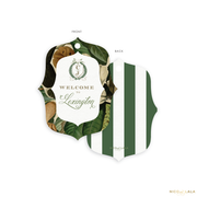 Magnolia Wedding Welcome Bag Tags