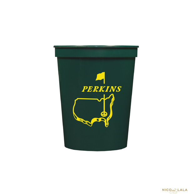 Masters Party Cups, Green