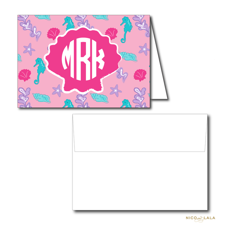 MERMAID BIRTHDAY THANK YOU NOTES