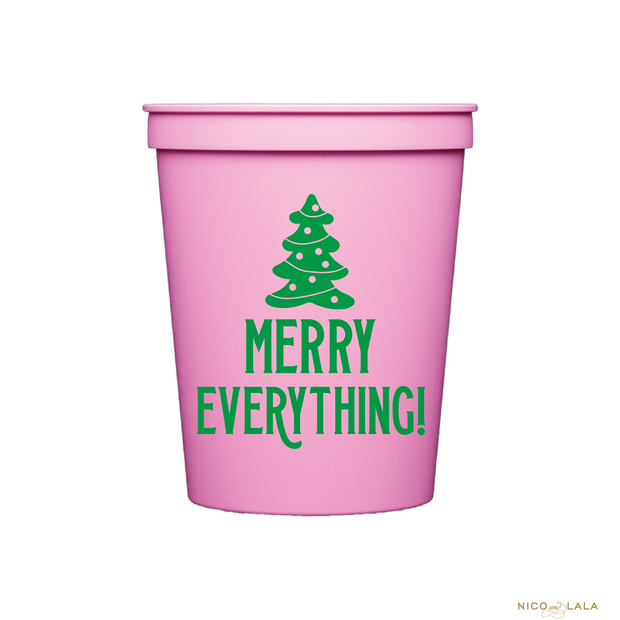 MERRY EVERYTHING CUPS