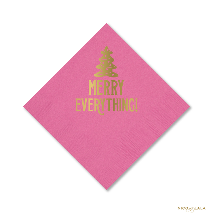 MERRY EVERYTHING NAPKINS
