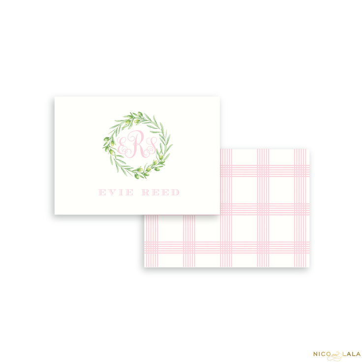 Wreath Calling Cards