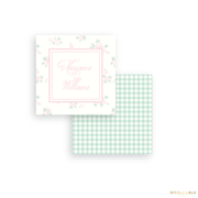 Classic Floral Calling Cards