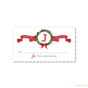 Newlywed Christmas Gift Stickers