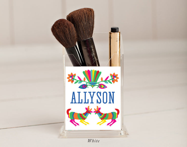 Otomi Pencil/Make Up Brush Holder