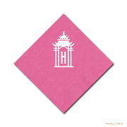 Pagoda Party Napkins