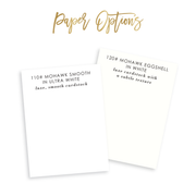 Watercolor Beach Calling Cards