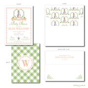 PETER RABBIT BABY SHOWER INVITATIONS