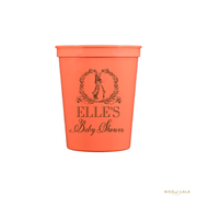 PETER RABBIT BABY SHOWER STADIUM CUPS