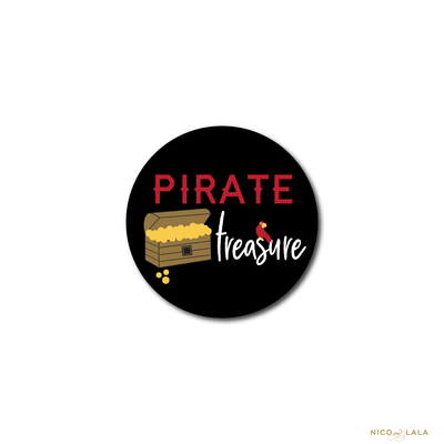PIRATE BIRTHDAY STICKERS