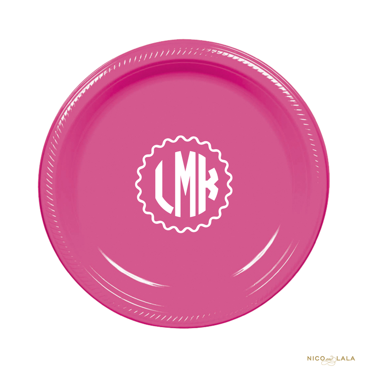 Lilly Pulitzer Birthday Plates