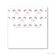 Stork Birth Announcement Christmas Card Lined Envelopes
