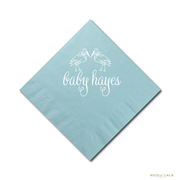 Stork Baby Shower Napkins