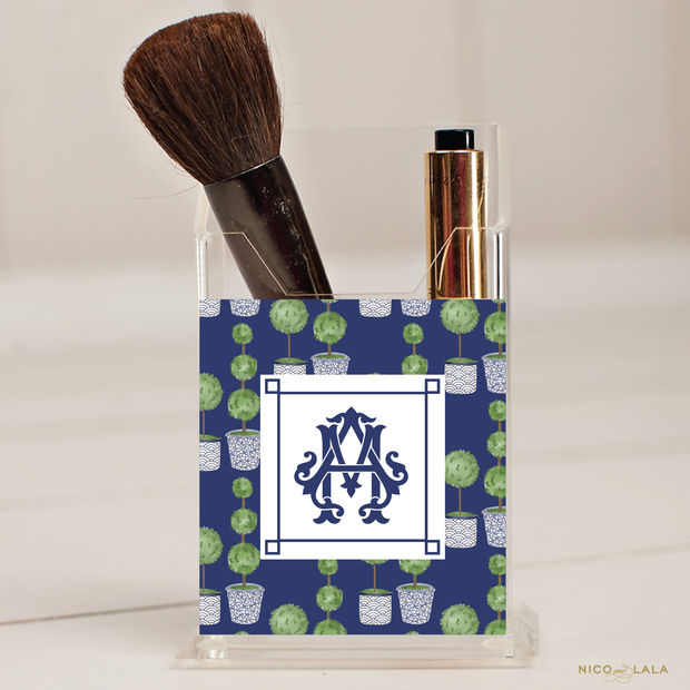 Topiary Pencil/Make Up Brush Holder