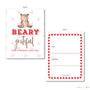 Bear Valentine's Cards