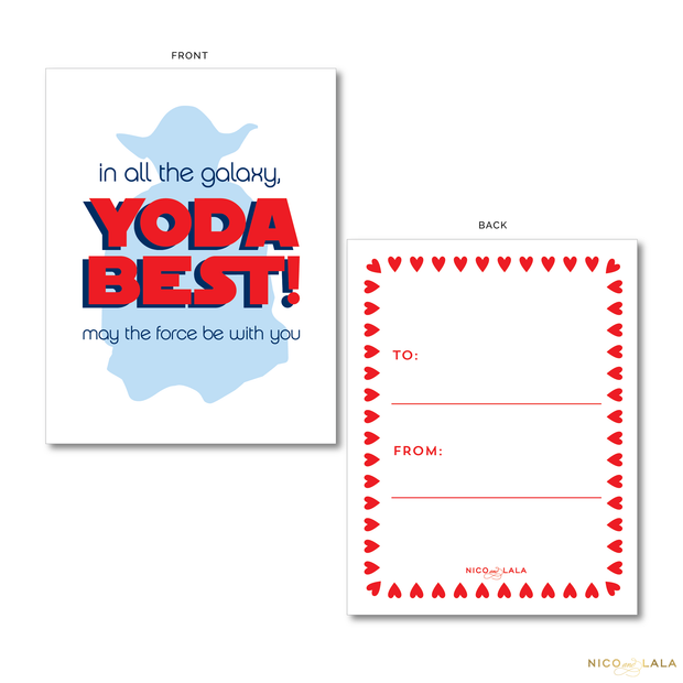 Star Wars Valentine's Cards