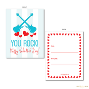 You Rock Valentine's Cards