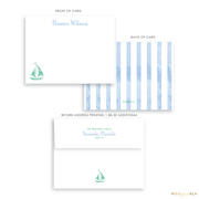Watercolor Beach Stationery