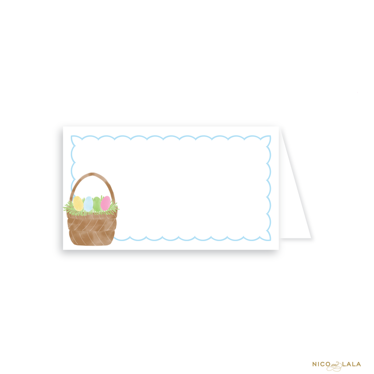 Watercolor Easter Place Cards