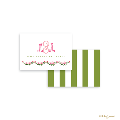 Buds and Blooms Calling Cards