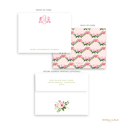 Buds and Blooms Stationery