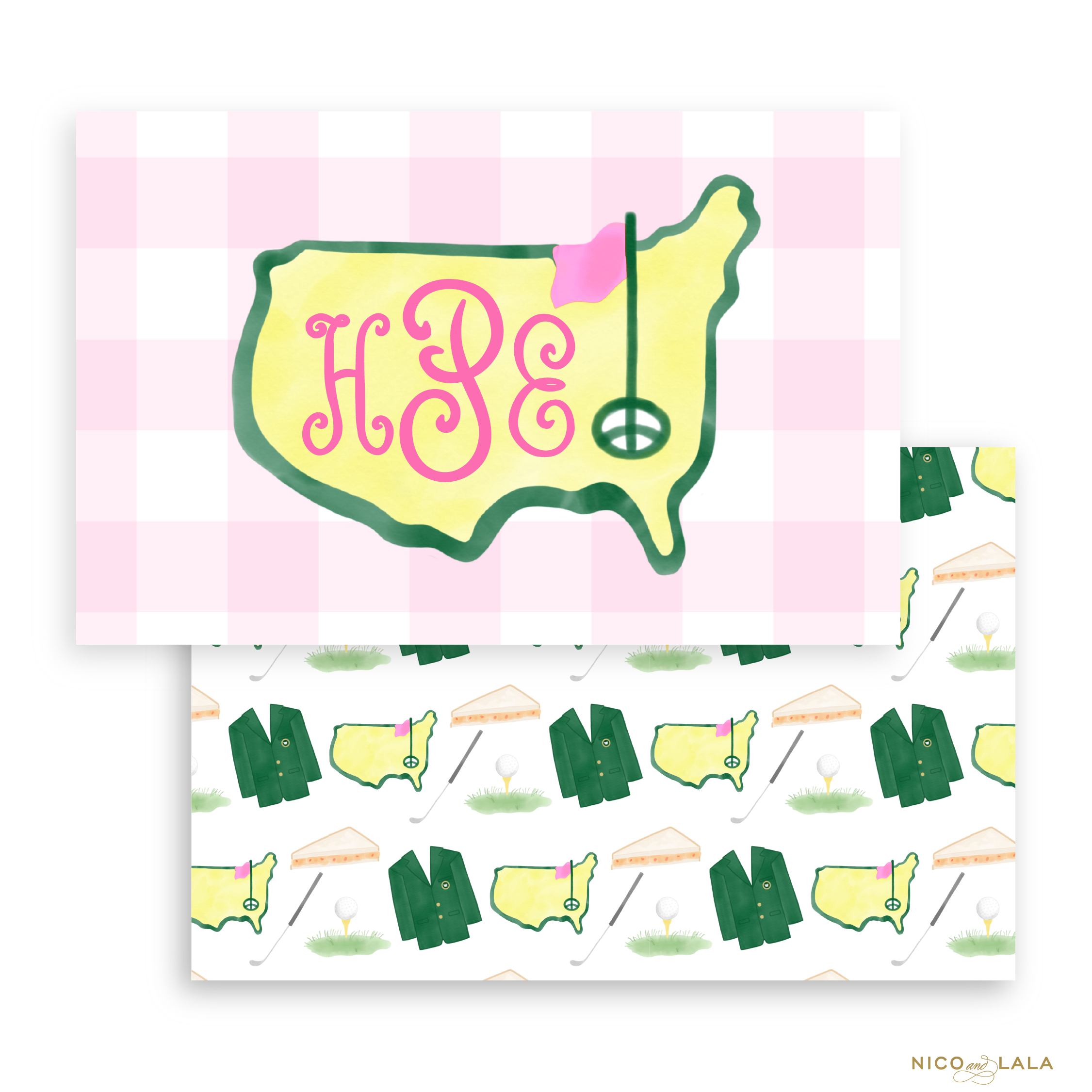 Masters Placemat, Pink