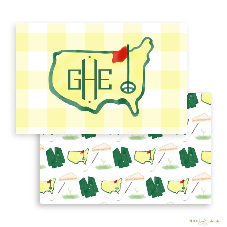 Masters Placemat