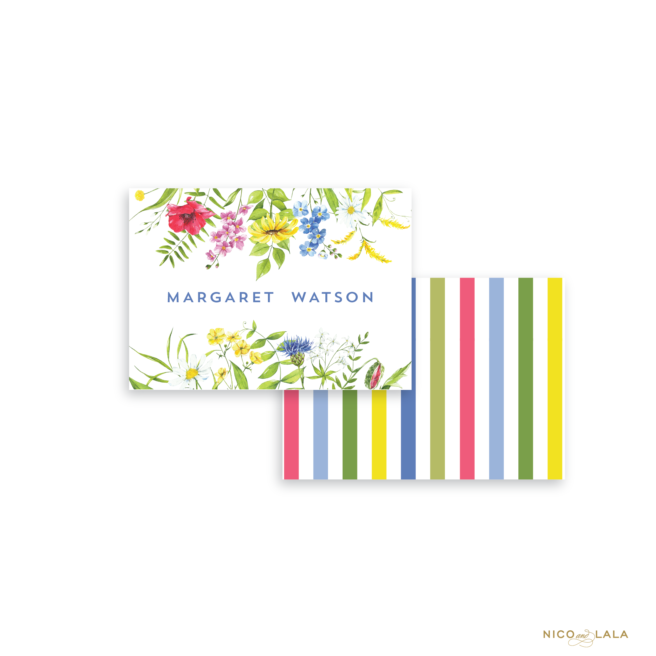 Wildflower Calling Cards
