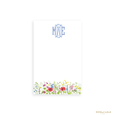 Wildflower Notepad