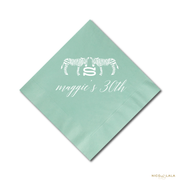 CHIC ZEBRA PARTY NAPKINS