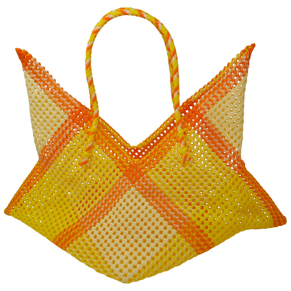 Cosmo Large Tote- Yellow/Orange