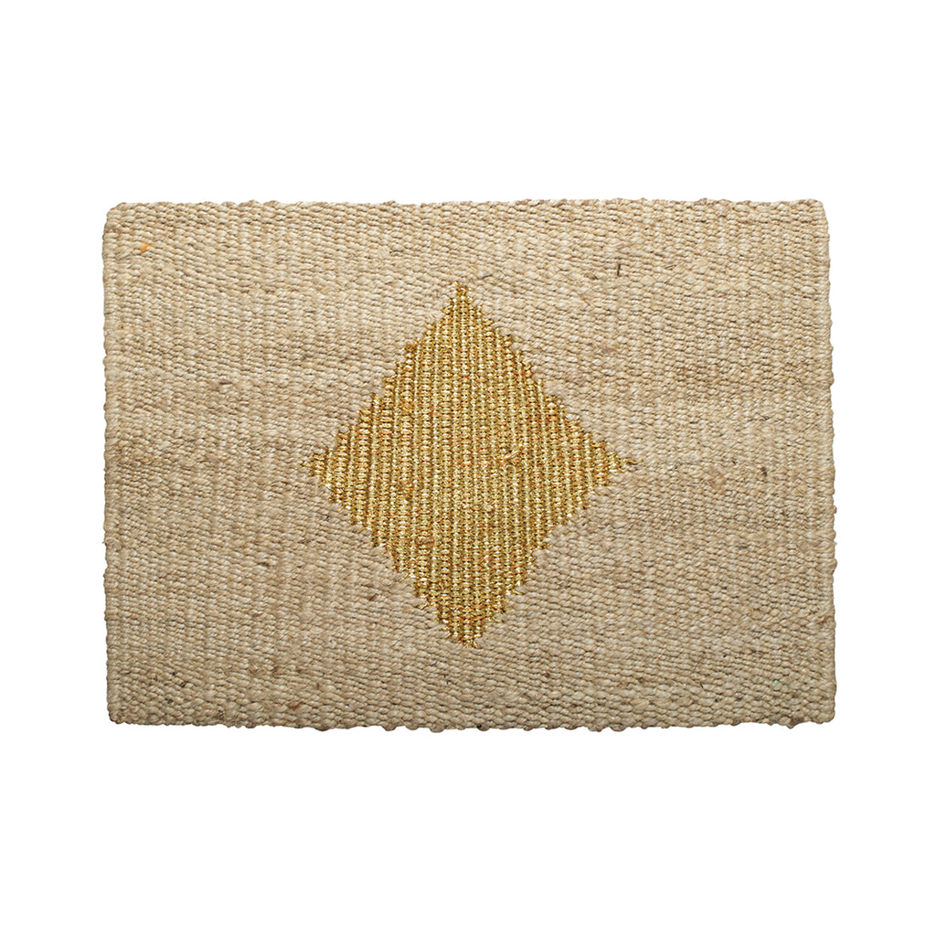 Diamond Doormat- Gold