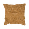 FRINGE CUSHION TAN/TAN